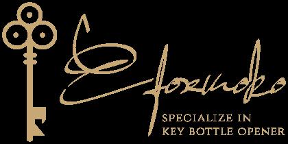 efoxmoko logo specialize in key bottle opener